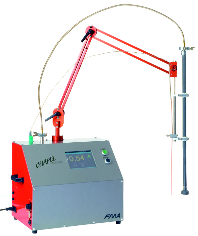 Fig. 1: CHAPEL® portable device to determine the hydrogen content, Photo: mk Industrievertretungen GmbH