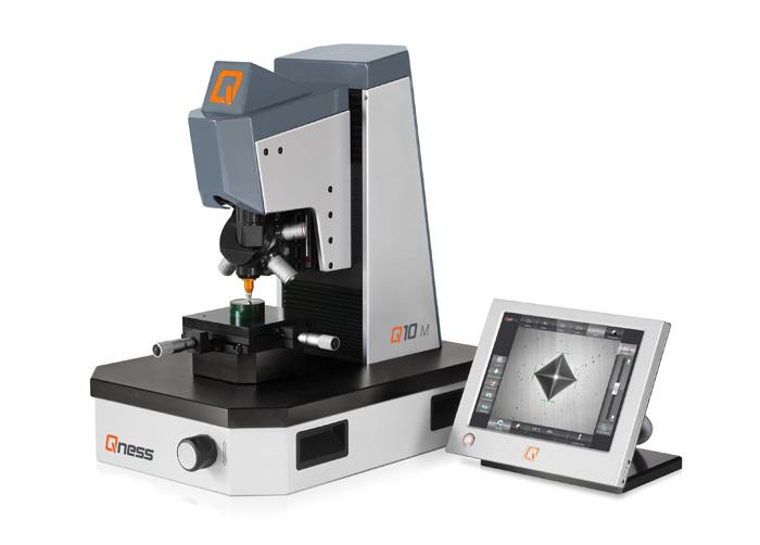 Bild 3: Mikrohärte- Prüfmaschine Q10 (Qness GmbH, Golling, Österreich)