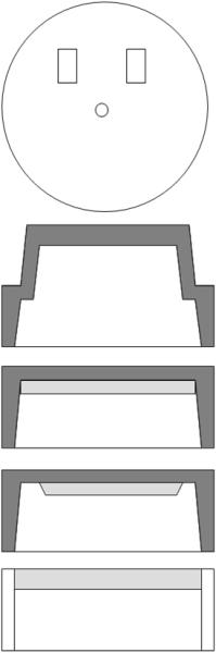 Bild 5: Beispiele für Deckelausführungen (Quelle: ASK Chemicals Metallurgy GmbH)