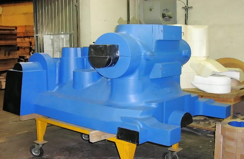 Bild 3: Modell für ein Stahlgussgehäuse, Foto: voestalpine Gießerei Traisen GmbH
