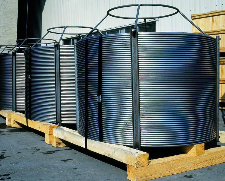 Bild 2: Basket für vertikalen Drahtabzug (ASK Chemicals Metallurgy GmbH)
