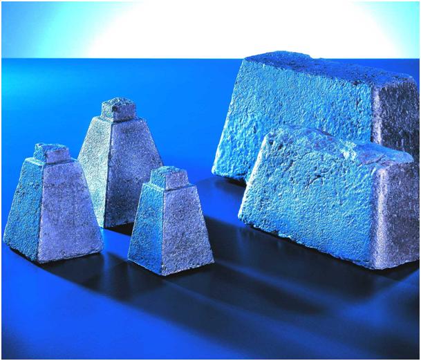 Bild 2: Impfblöcke für den Handformguss  (ASK Chemicals Metallurgy GmbH)