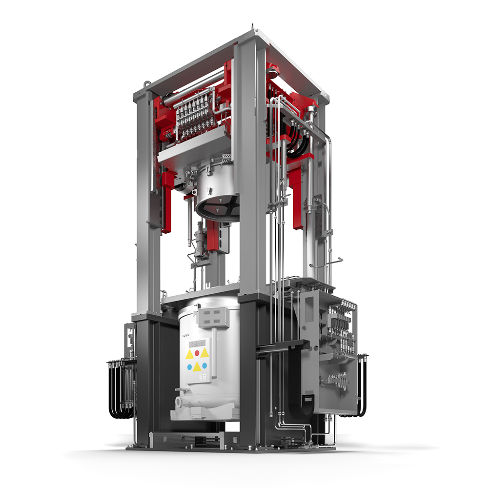 Fig. 3: Counterpressure casting machine PRESSURE CASTER from the company Fill GmbH