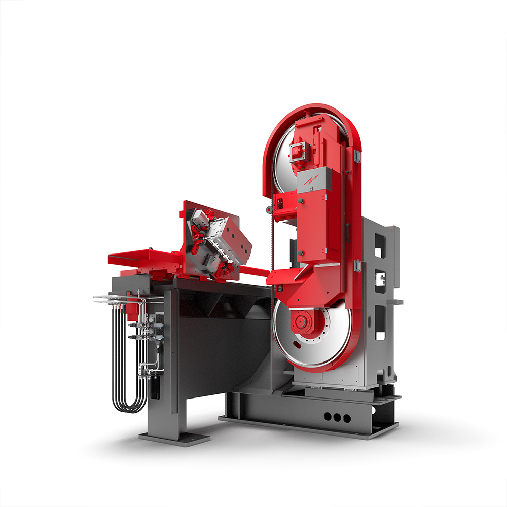 Fig. 2:  SPEEDLINER 920 M band saw by Fill GmbH
