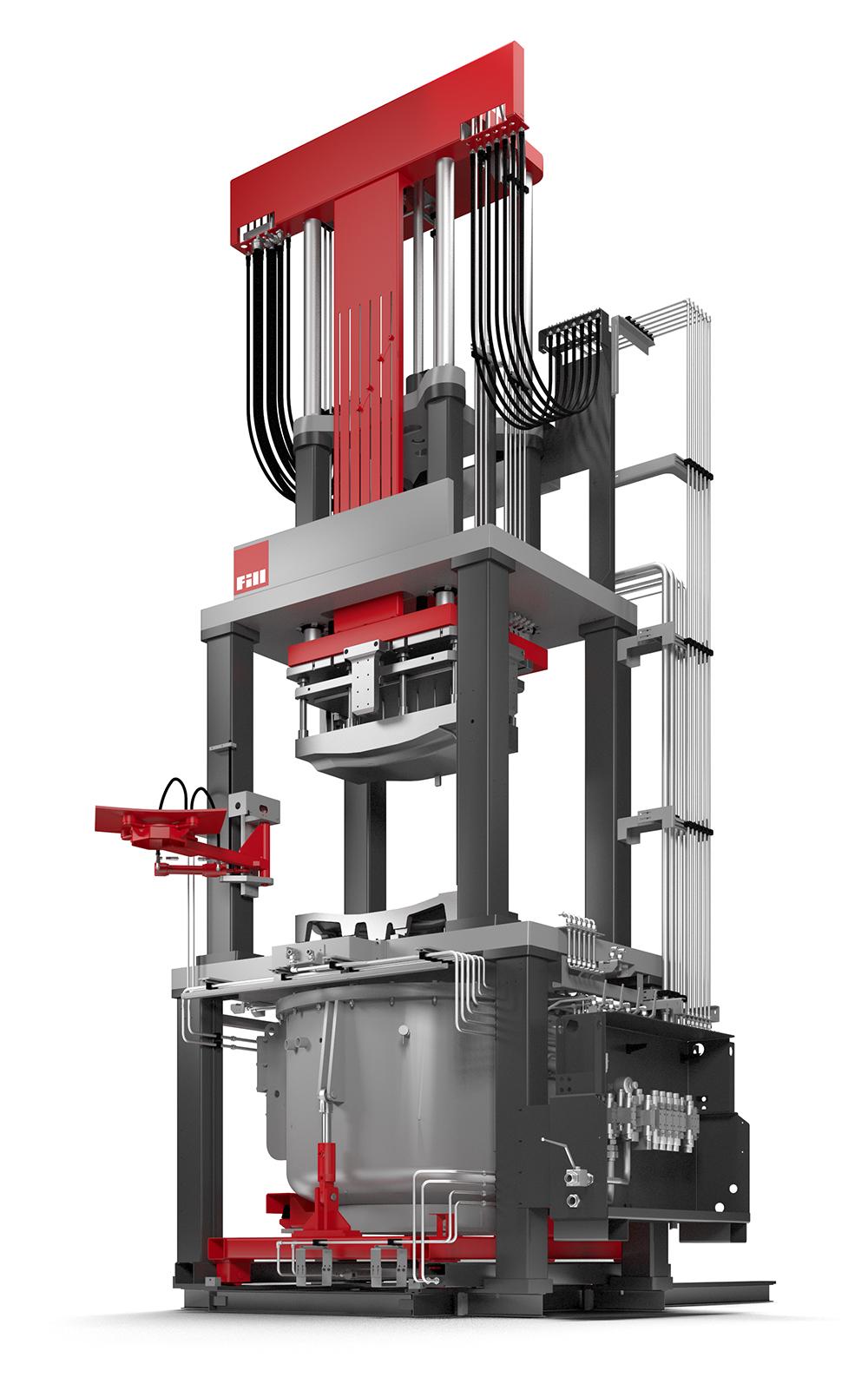 Low pressure caster von Fill GmbH, Niederdruckgießmaschine