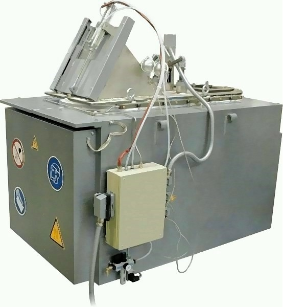 Bild 4: Einkammer-Tiegelofen mit einer Schmelzleistung von 250 kg/h, Type MMO250 der Fa. Ing. Rauch Fertigungstechnik GmbH