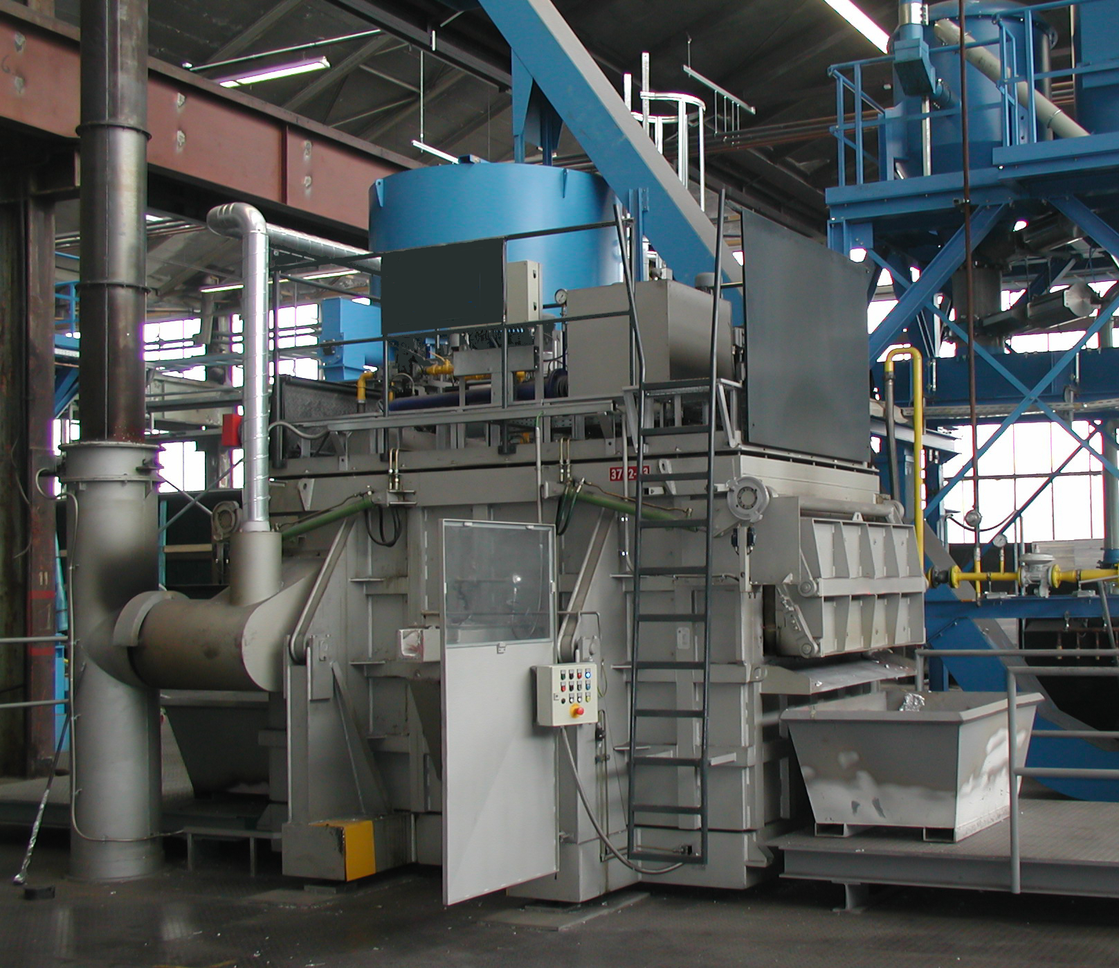 Bild 1: Späneofen (ZPF GmbH)