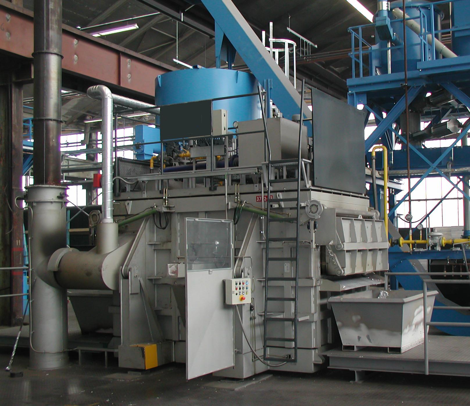 Fig. 1: Chip funace (ZPF GmbH)