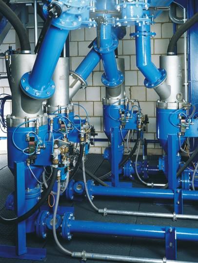 Bild 1: Druckgefäßförderer SP-HL (KLEIN Anlagentechnik AG)