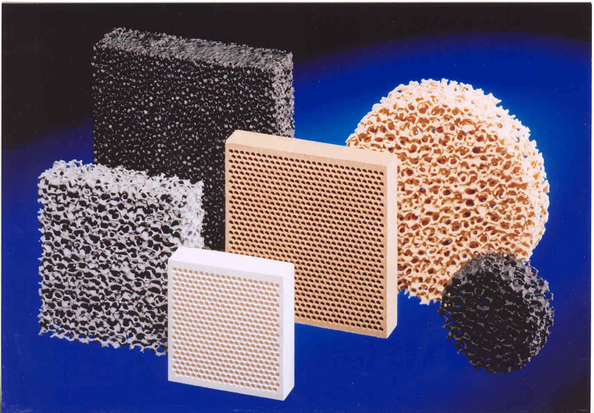 Fig. 1: Filter, (Foseco Foundry Division Vesuvius GmbH)