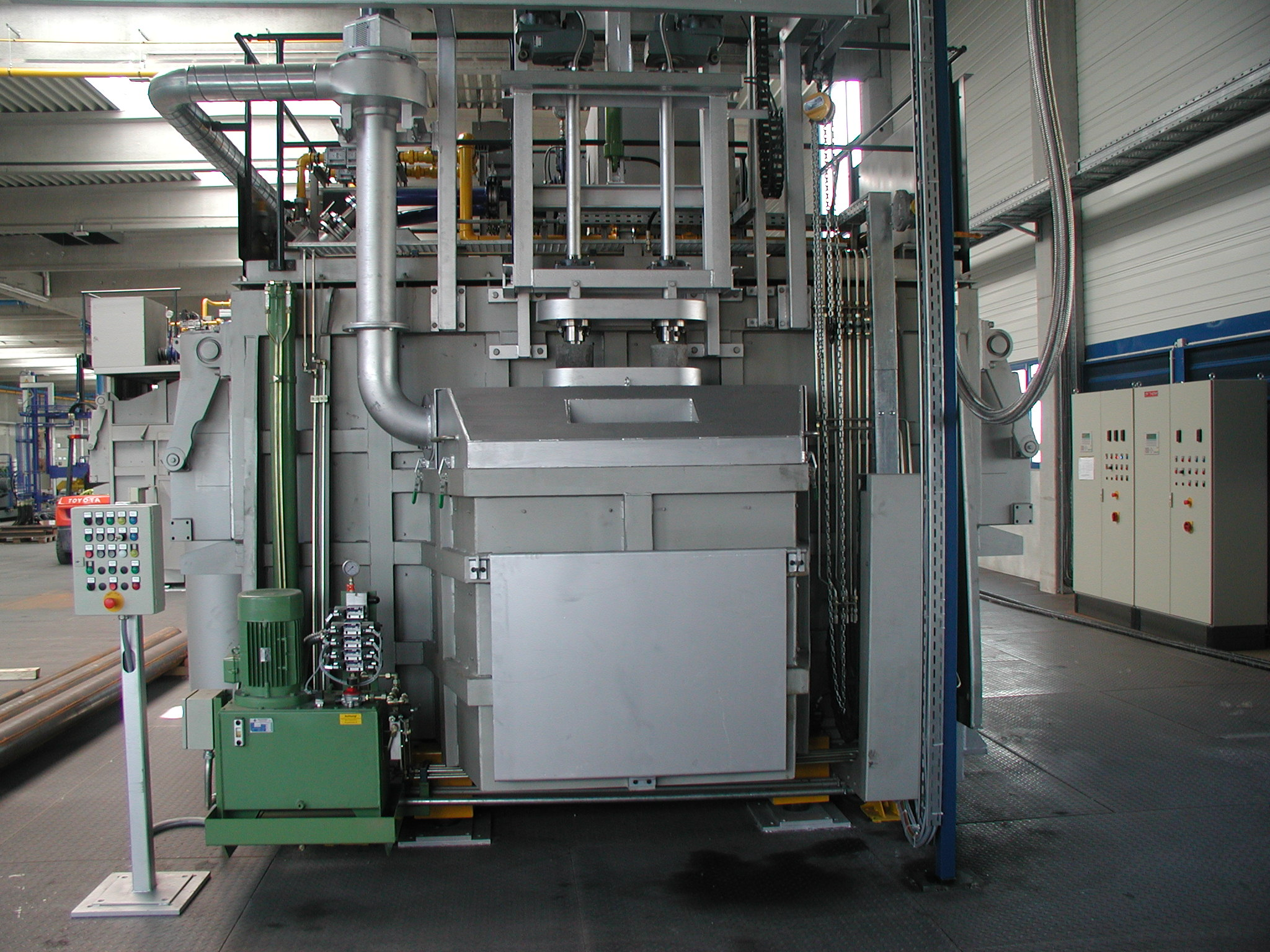 Fig. 2: Furnace bag for adding chips (ZPF GmbH)