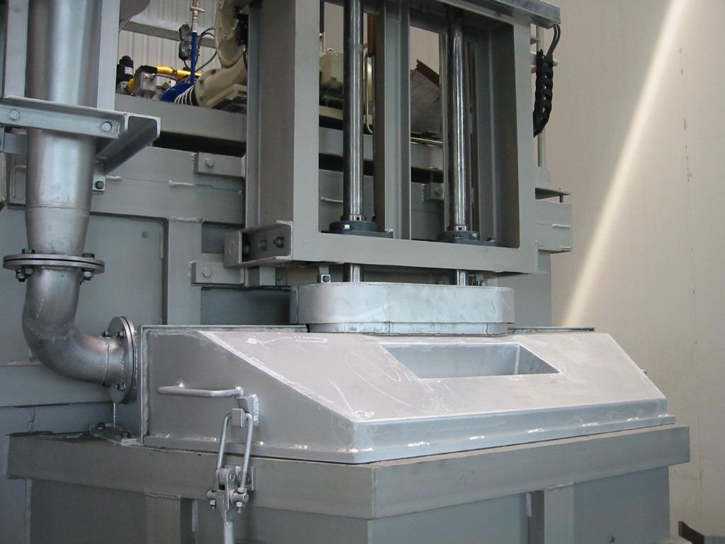 Bild 3: Spänetasche mit Rührwerk (ZPF GmbH)