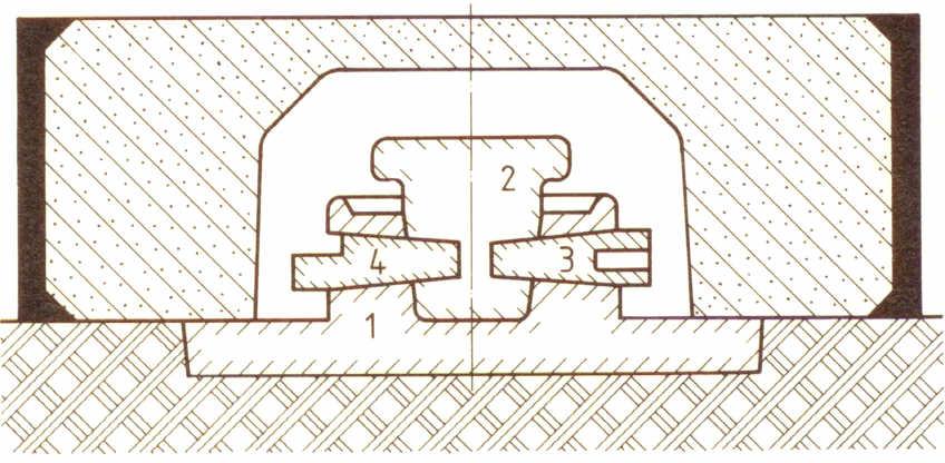 Bild 1: Standkern als Kernpaket (nach R. Rolle)
