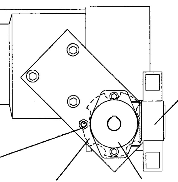 Fig. 4: Mold height distance measuring through hydraulic engine and pulse counting, Source: Bühler AG, Uzwil, Switzerland