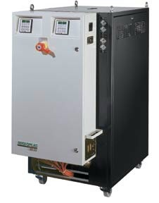 Fig.3: Heating/cooling unit with a maximum flow temperature of 350°C, aic-regloplas GmbH