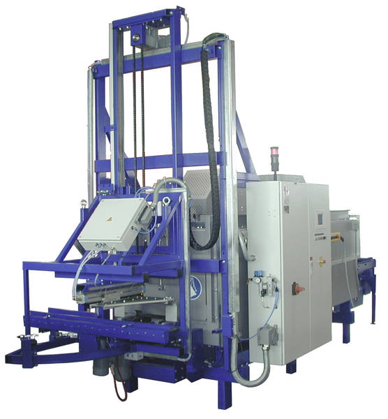 Figure 1:Magnesium heat-up and loading machine, type MVE from Ing. Rauch Fertigungstechnik GmbH