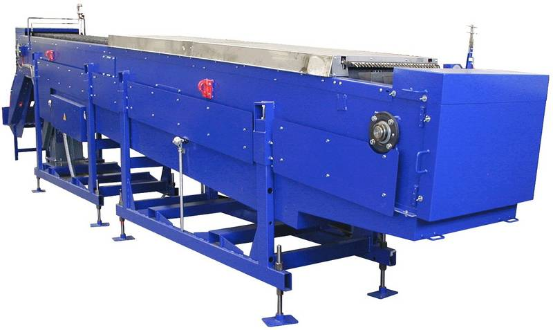 Fig. 1: Magnesium pig casting conveyor, type MMGB by Ing. Rauch Fertigungstechnik GmbH