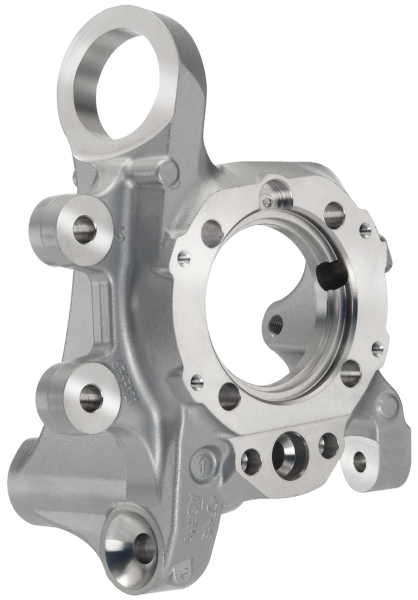 Fig. 5:  Wheel bearing, manufactured using aluminum gravity die casting, source and photo: Wikimedia and Georg Fischer Automotive AG