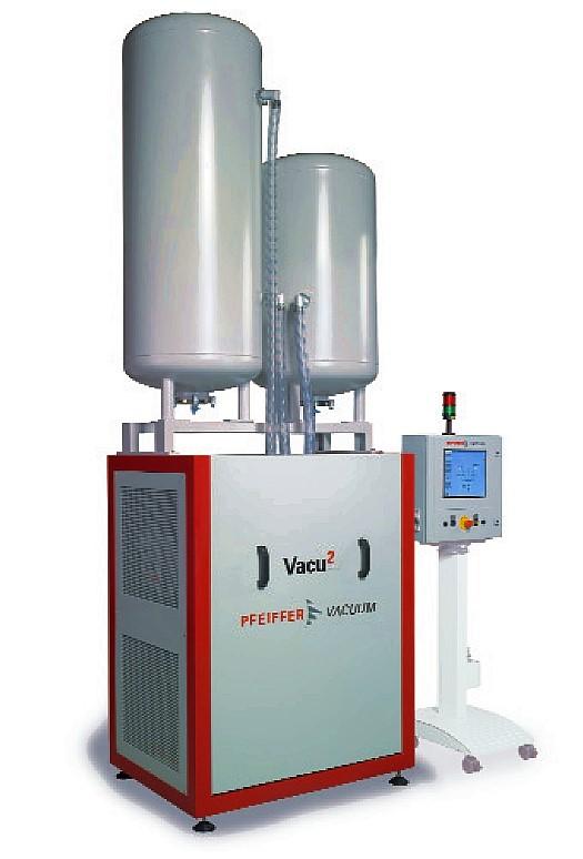Fig. 4: Multi-stage vacuum system Vacu2 from Pfeiffer Vacuum