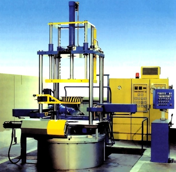 Fig. 6: Low pressure gravity die casting machine