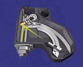 Fig. 3: WDX spectrometer (Oxford Instruments)