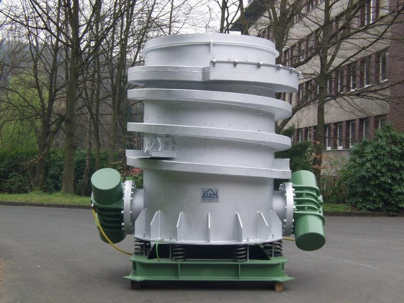Fig. 1: Spiral breaker (KLEIN Anlagenbau AG, Niederfischbach)