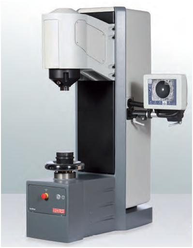 Fig. 1: DuraVision macro hardness testing machine (EMCO-TEST Prüfmaschinen GmbH, Kuchl-Salzburg, Austria)
