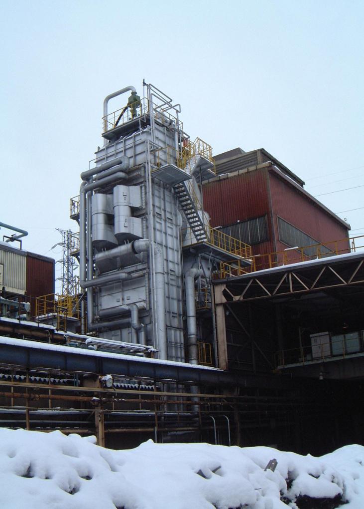 Bild 1: Rekuperator System bei einem japanischen Kunden (Quelle: Küttner GmbH & Co. KG)
