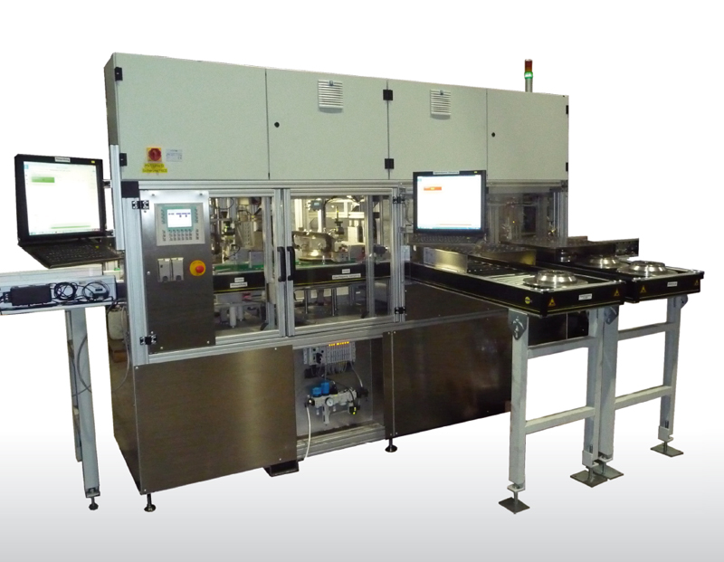 Fig. 2: production-integrated inline test bench, (RTE Akustik + Prüftechnik GmbH)