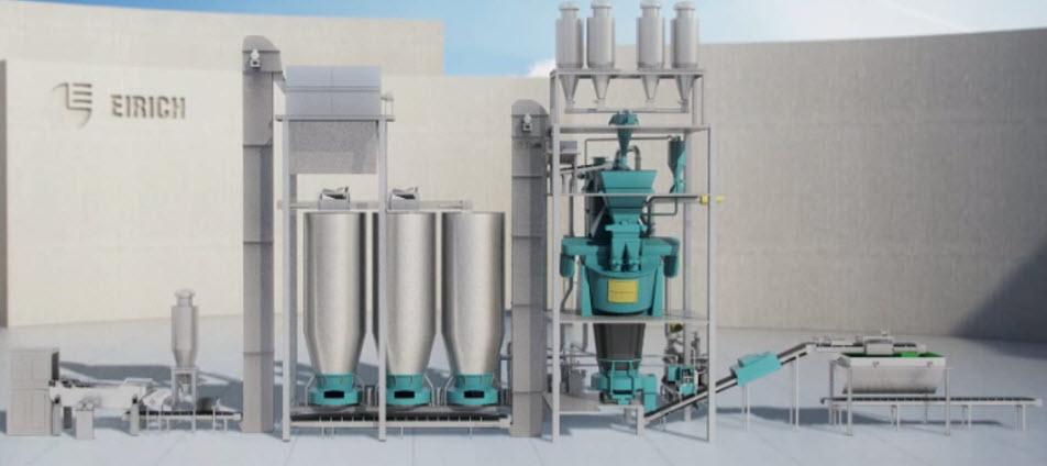 Bild 3: Formstoffaufbereitung mit dem EVACTHERM®-Verfahren (Maschinenfabrik Gustav Eirich GmbH & Co KG)