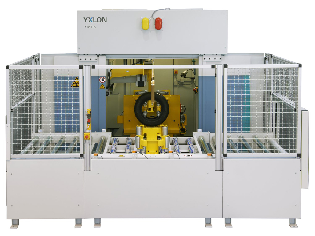 Fig. 4: YXLON Y.MTIS: One of a successful tire inspection system on the market (YXLON International GmbH)
