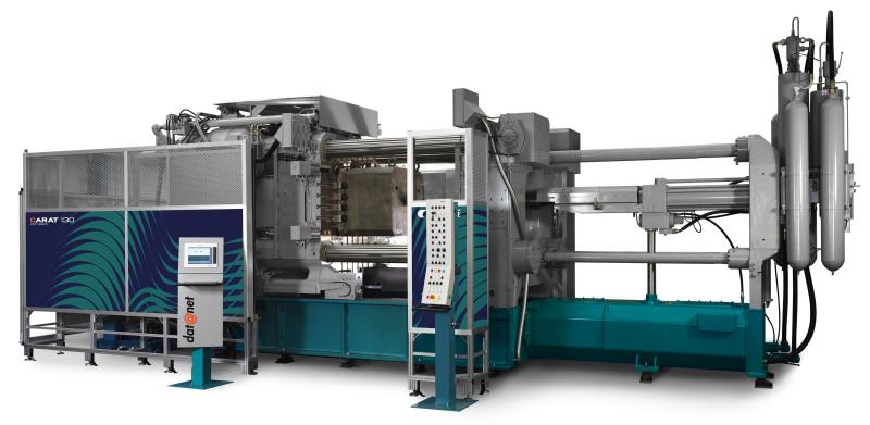 Bild 2: 2-Platten-Druckgießmaschine der Baureihe Carat von Bühler AG