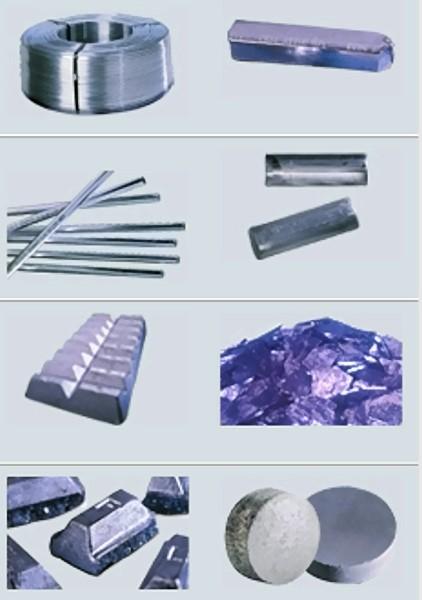 Bild 1: Lieferformen von Aluminium-Vorlegierungen, Quelle: KBM Affilips B.V.