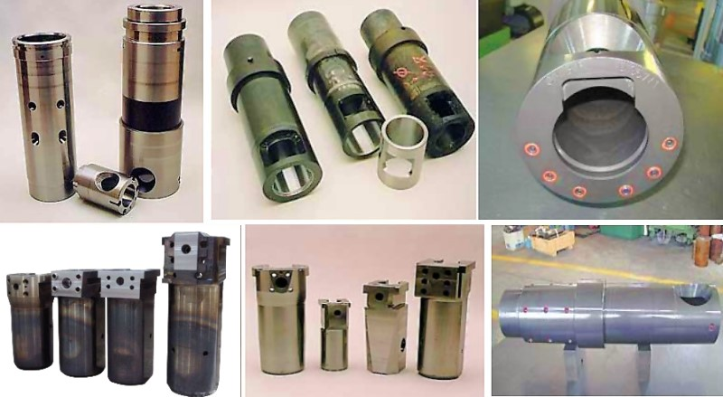 Bild 7: Ausführungen von Gießkammern des Herstellers Brondolin S.p.A.