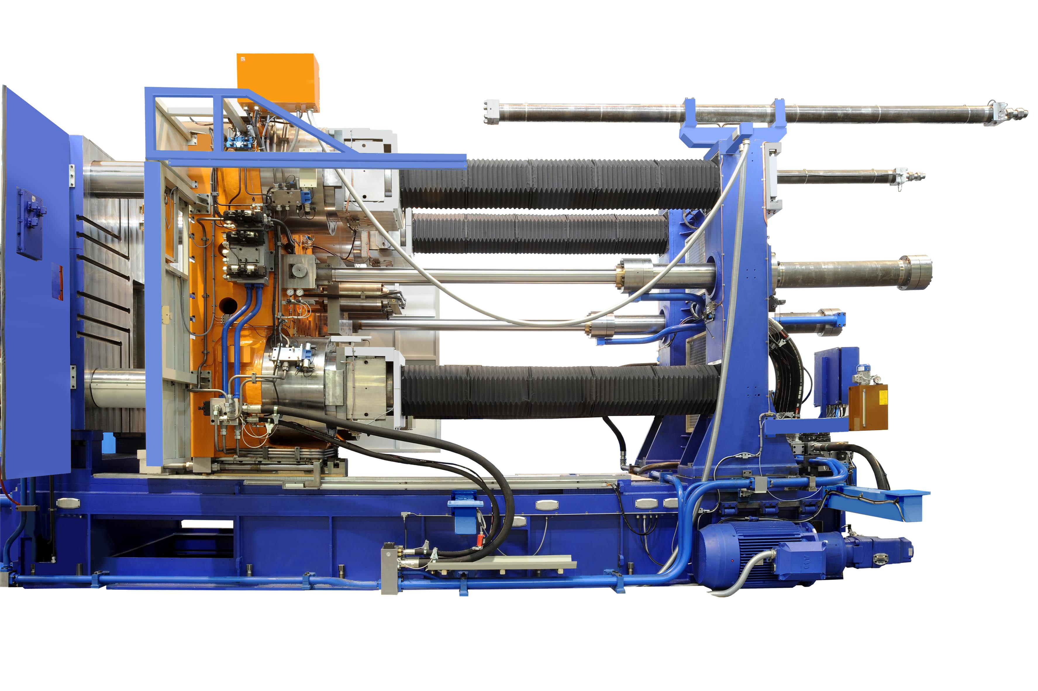 Fig 2:High pressures die casting (Italpresse Industrie S.p.A.)