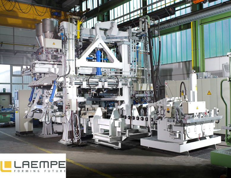 Bild 1: Kernblasmaschine für Formstoffe aus harzumhüllten Sand. Dieser Maschinentyp kann auch für kalthärtende Formstoffe eingesetzt werden, (Laempe Mössner GmbH, Schopfheim)