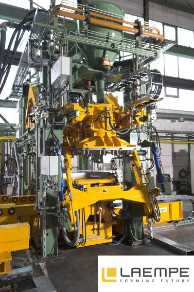Bild 2: Ähnlicher Maschinentyp wie in Bild 1, (Laempe Mössner GmbH, Schopfheim)