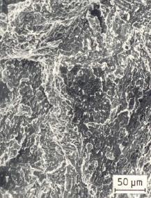 Bild 2: Schlagbruch des Eisens aus Bild 1, 300:1