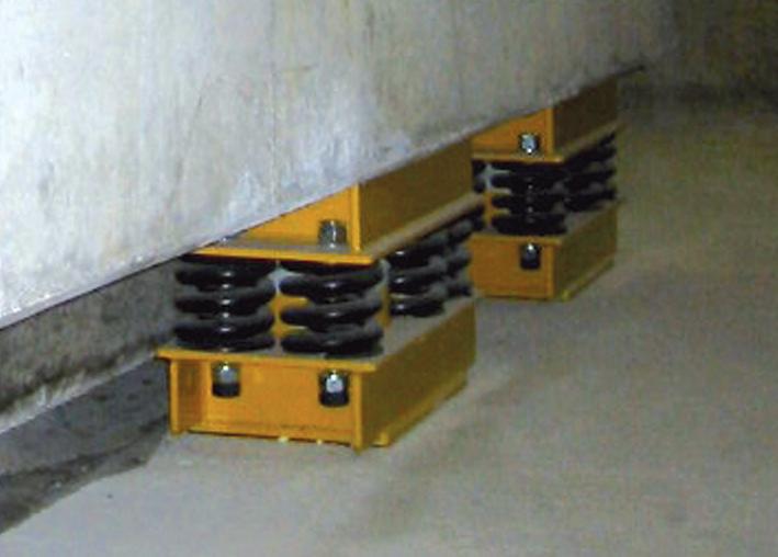 Bild 1: Gegenschwingfundament,(GUT Giesserei Umwelt Technik GmbH, Freudenberg)