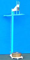Bild 1: Prüfeinrichtung zur Ermittlung des Shatter-Index, (Kelsons Testing Equipment, Kolhapur, India)