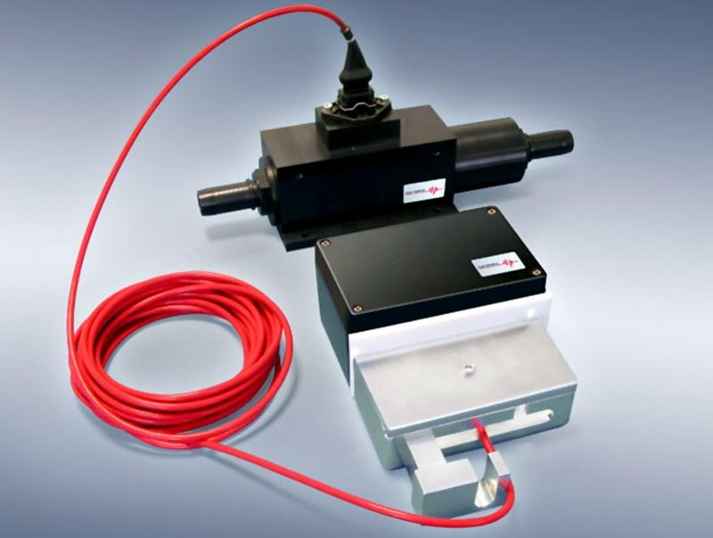 Bild 1: Luftmengensensor LMS und Anbau-Kit von Electronics GmbH
