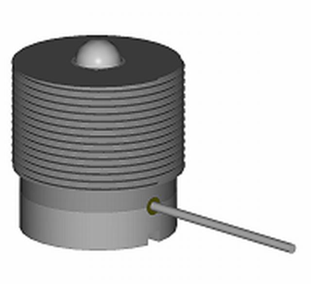 Bild 1: Sensor SP-P zur Messung für die Verdichtungsverfahren Pressen und Schieß-Pressen (nach J. Bast und A. Malaschkin)