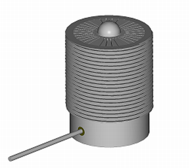 Bild 2: Sensor SP-I zur Messung für die Verdichtungsverfahren Luftstrom-Press- oder Impulsverfahren (nach J. Bast und A. Malaschkin)