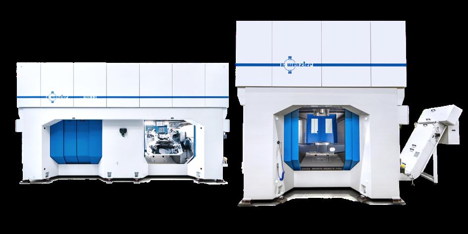 Bild: BAZ VKM 2, zwei Spindeln, zwei autarke Kammern, (August Wenzler Maschinenbau GmbH)
