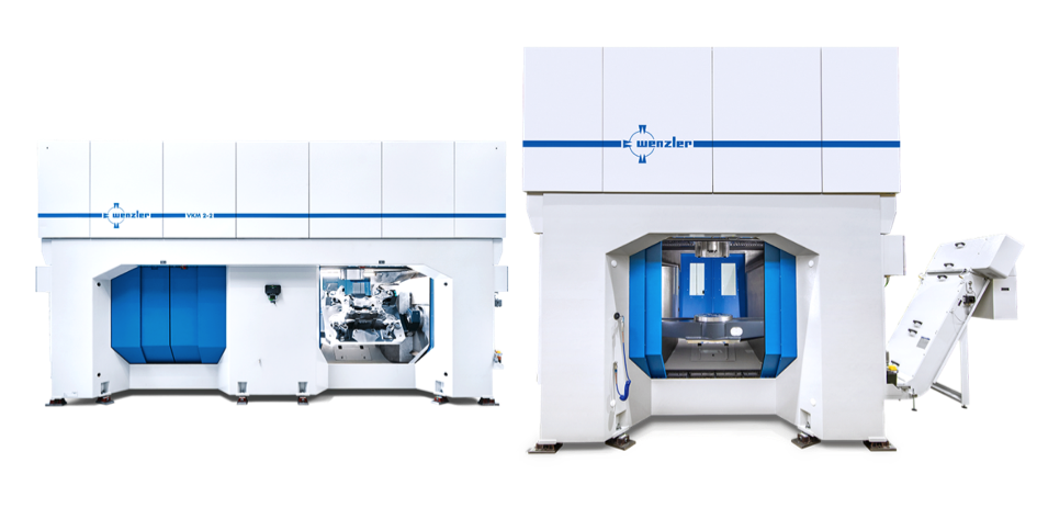 Fig. Machining center VKM 2, two spindles, two autonomous chambers (August Wenzler Maschinenbau GmbH)