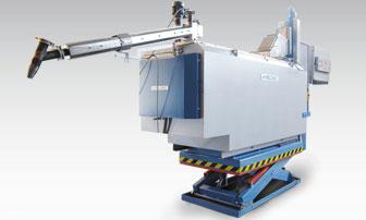 Bild 1: MMD - Magnesium Schmelzen- und Dosierzelle (MELTEC Industrieofenbau GmbH)