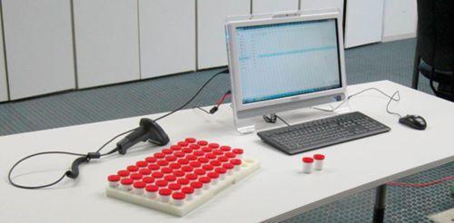 Bild 2: Einblick in das Prüflabor (Quelle: Fraunhofer IZFP)