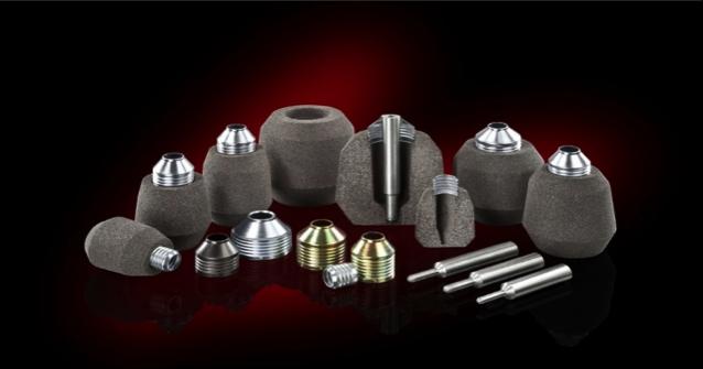 Bild 2: Beispiele der neuen FEDEX K VAK Punktspeiser (Foseco Foundry Division Vesuvius GmbH),