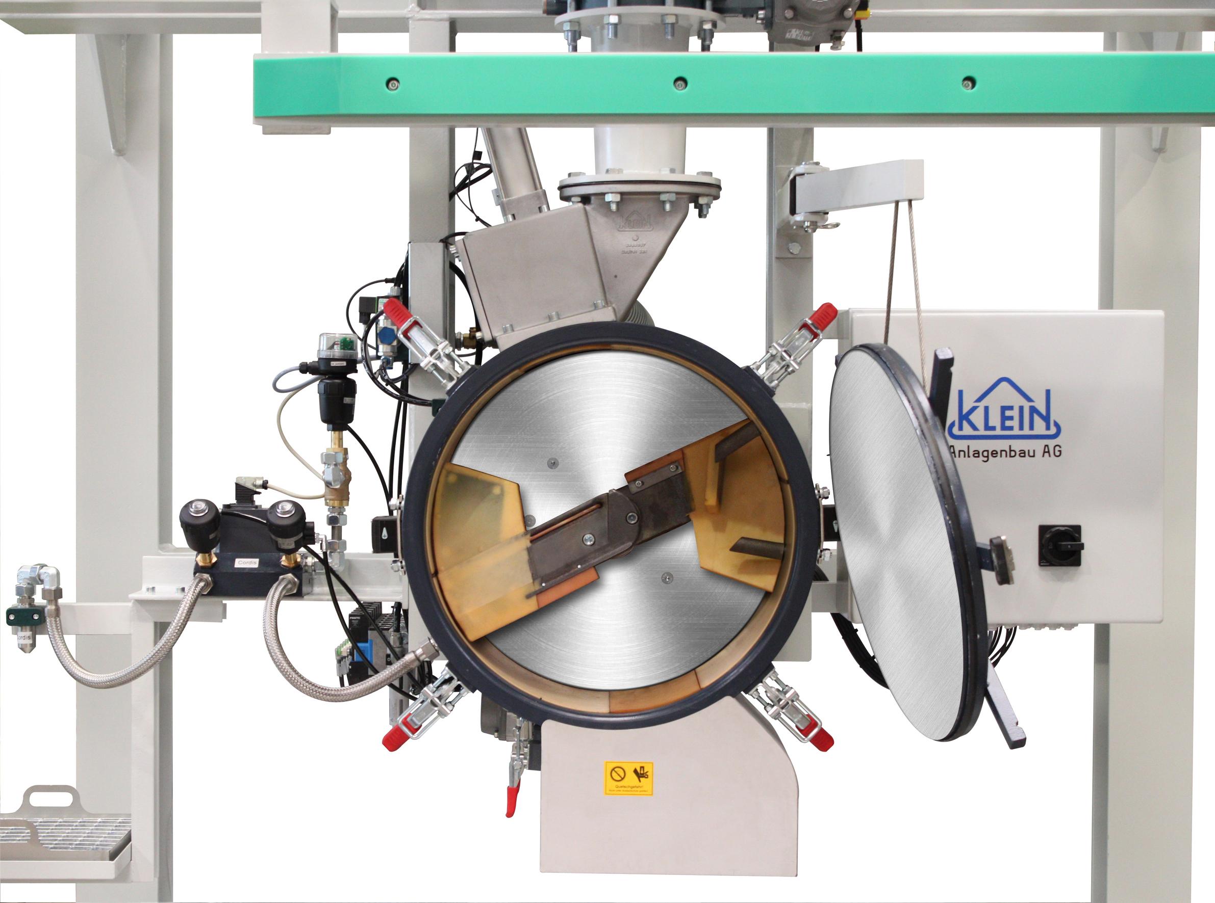 Fig. 1: Core sand mixer (KLEIN Anlagenbau AG)