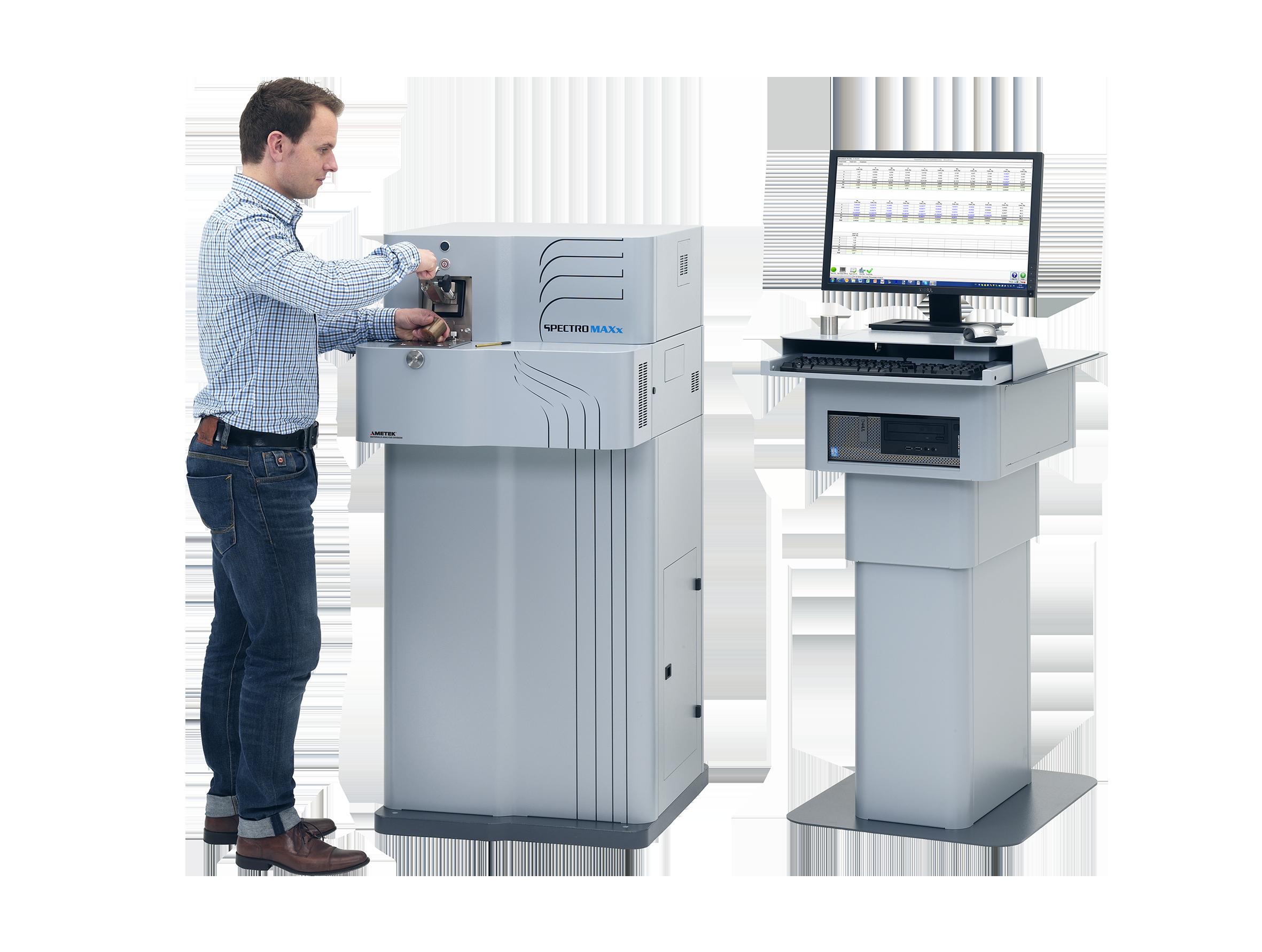 Fig 2: Stationary metal analyzer SPECTROMAXx (SPECTRO Analytical Instruments)